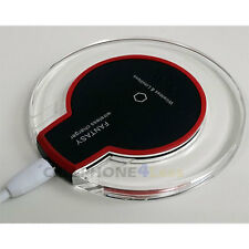 Crystal Qi Wireless Charger Charging Dock Station Pad For Mobile Cell Phone