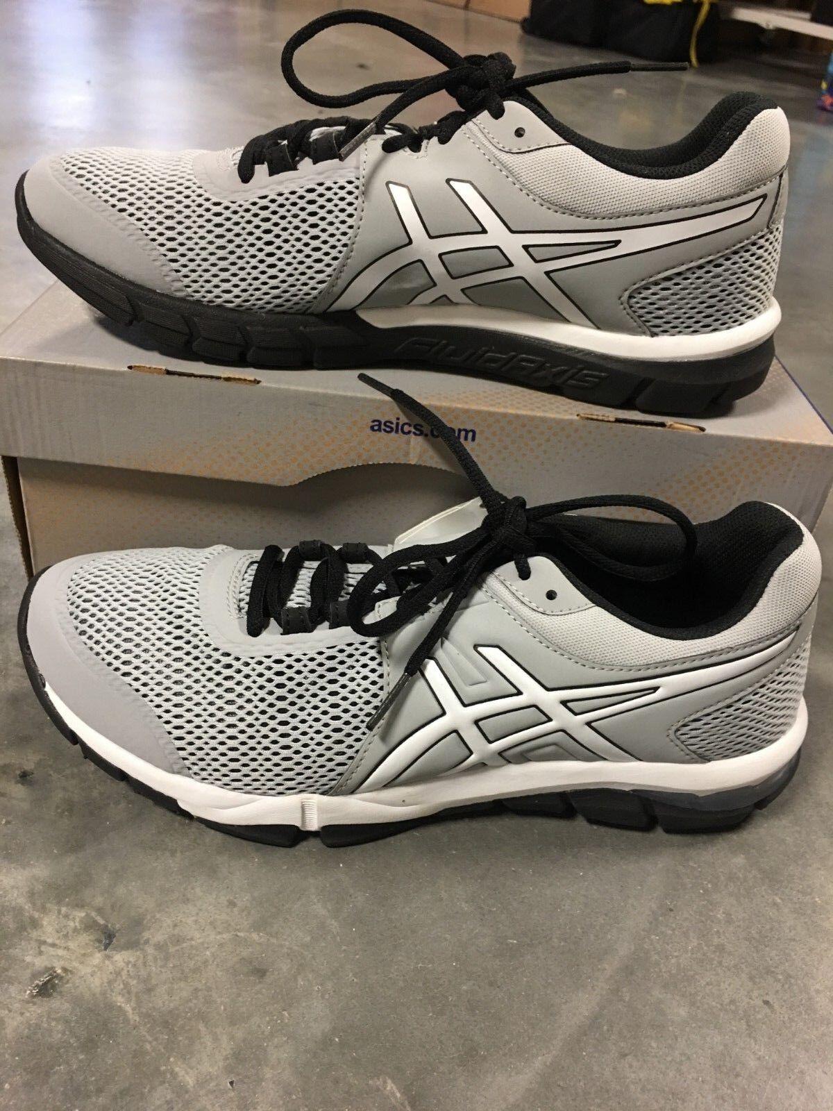 ASICS Gel-Craze TR 4 Men's 9 M US shoes; color Mid Grey, White, Black  RETURN