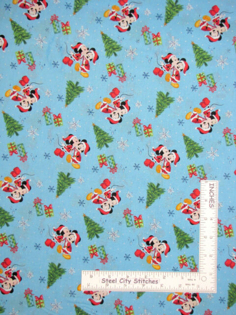 Disney Christmas Fabric By The Yard.Christmas Disney Minnie Mickey Mouse Love Cotton Fabric Cp66392 By The Yard
