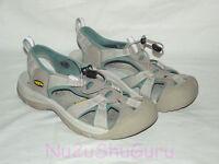 KEEN Venice Beige/Seafoam Green Sport Sandals Womens Size 9.5