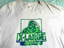Vintage X-LARGE CLOTHING Camouflage Pink Shirt A Bathing Ape Bape Planet Milo