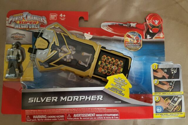 POWER RANGERS SUPER MEGAFORCE SILVER MORPHER NEW IN SEALED PACKAGE