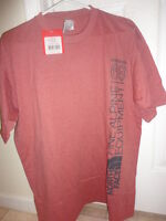 The North Face Men's 68 Alpines T-shirt Red Clay Heather S