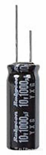10V alluminio Elec RAD 10yxg2200mefc16x16-PAC 2200uF RUBYCON