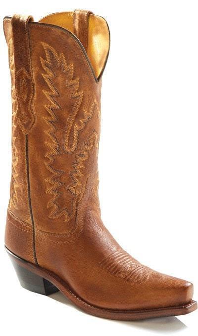 Old West Western Donna Stivali Canyon Snip Toe Toe Snip Tan TS 1541 SZ 8.5 e3fcde