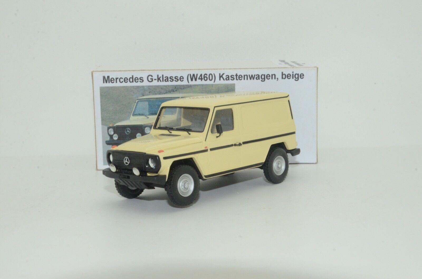 Rare     Mercedes G Class W460 KASTENWAGEN Vector Modèles fait à la main 1 43  la qualité d'abord les consommateurs d'abord
