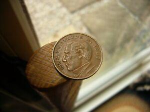 1967 Mexico 10 Centavos Coin