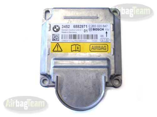 Airbag ECU Control Module 34526882971 No Crash Data BMW 1 2 3 4 X3 X4 Series 11