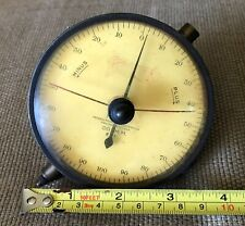 Federal Large Face 001mm Dial Indicator Plus Minus Made In Usa