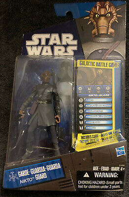 Star Wars Clone Wars NIKTO GUARD TOYS R US exclusive loose complet