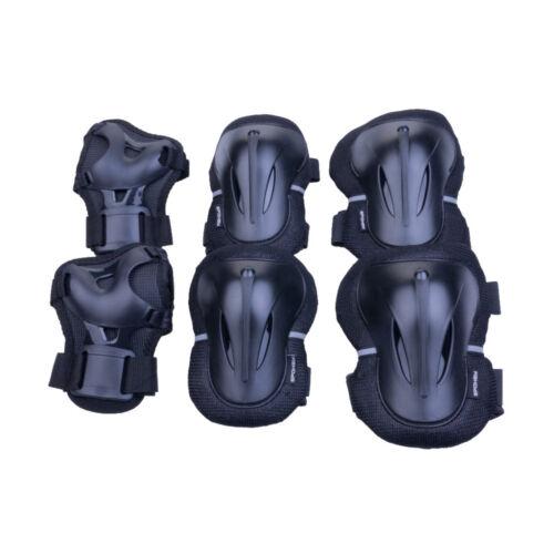 Schonerset Schutzausrüstung Set Schoner Knie Ellbogen Handgelenk PLATE Spokey
