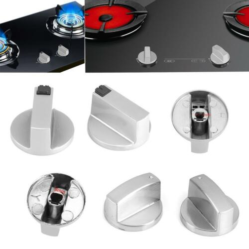 6mm//8mm Gas Stove Knobs Oven Cooker Kitchen Cooktop Rotary Switch Control Set