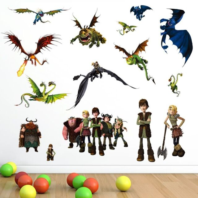 Dragon Master Kids room Art PVC Quote Wall Stickers Wall Decals Mural Wallpaper