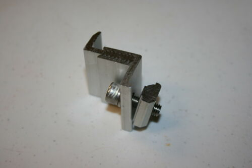 Solar Panel Mounting Brackets-Adjustable End Clamp fit 35mm to 50mm framed panel