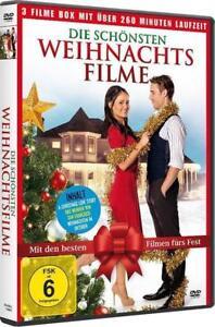 Spielfilme An Weihnachten 2019.Details Zu Die Schönsten Weihnachtsfilme 3 Filme Zu Weihnachten Fsk6 Dvd Neu Ovp