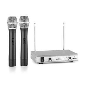 Microfono-Wireless-Professionale-Registrazione-Studio-Produzione-Due-Canali-50m