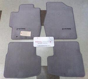 toyota solara hardtop 2006 2008 gray carpet floor mats. Black Bedroom Furniture Sets. Home Design Ideas