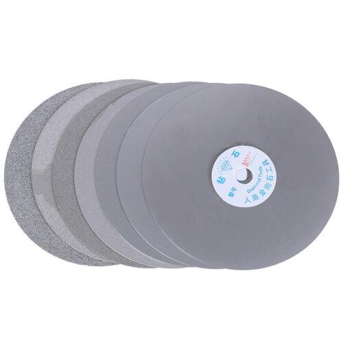 "6/"" 150mm Diamond Coated Flat Lap Disc Jewelry Polish Grinding Wheel 80~3000# NH"