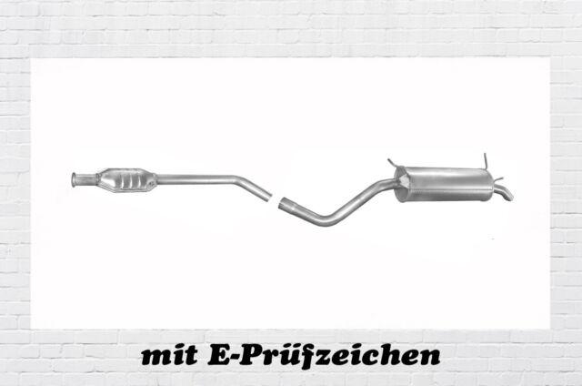 1.2 16V Auspuffanlage Auspuff ab Kat Renault Twingo I C06/_