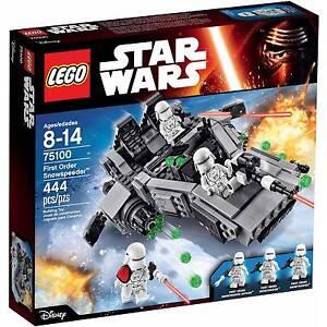 LEGO Star Wars First Order Snowspeeder NEW SEALED AUTHENTIC RETIRED 75100