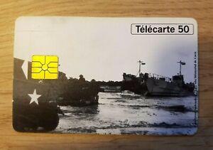 Telefonkarte - 50eme Jahrestag Des Landungen Und Libération 1944-1994 (A8524)