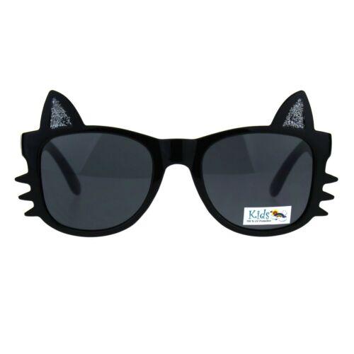 Girls Sunglasses Kitty Cat Whiskers Ears Frame Kid/'s Fashion UV 400