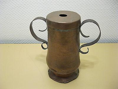 Altes Kupfer Gefäß Mit Deckel - 19 Cm
