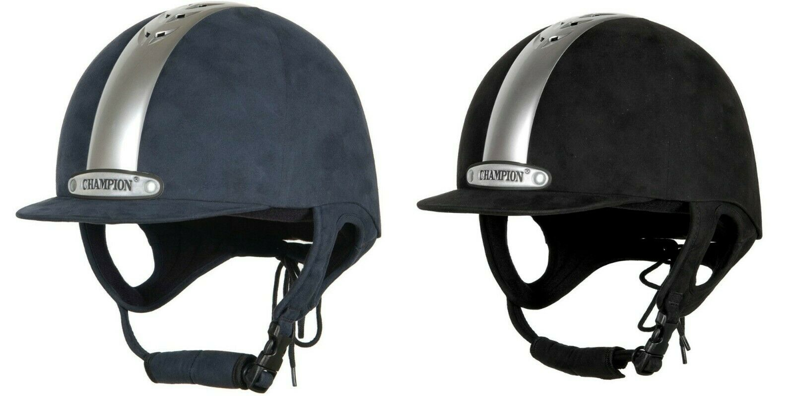Champion Ventair fixe Pic Équitation Chapeau en noir Ou bleu Marine-toutes Tailles disponibles