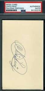 Chico-Ruiz-PSA-DNA-Coa-Autograph-Hand-Signed-3x5-Index-Card