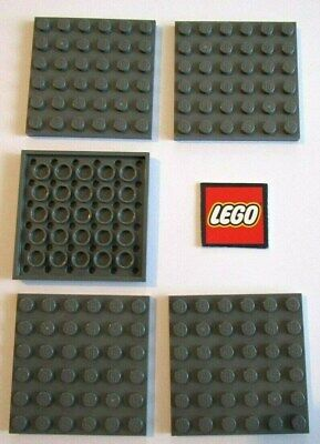 Packs of 4 Plates LEGO 1x3 PLATES with 2 Studs 34103 - Choose Your Colour