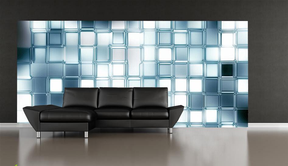3D Square Lattices 85 Wall Paper Murals Wall Print Wall Wallpaper Mural AU Kyra