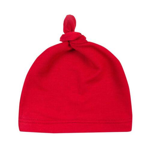 Warm Newborn Toddler Kids Baby Hat Boy Girl Bow Turban Warm Beanie Hat Winter WW