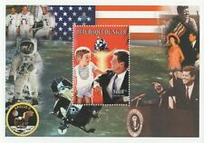 Presidente John F. Kennedy JFK APOLLO 11 Niger 1999 MNH STAMP SHEETLET
