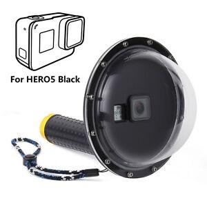 Dome-Port-Underwater-Diving-Camera-Lens-Cover-for-GoPro-Hero-5-6-7-Black-Camera