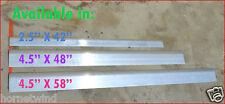 "5 Aluminum blades Wind turbine Seeker Southwest 501 505 VAWT vertical  58""X4.5"""