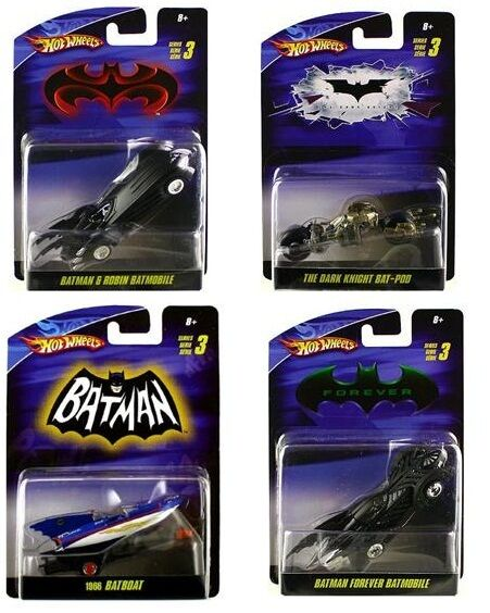 Hot wheels batman - serie 03 1  50 skala von 4