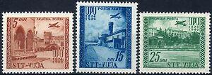 1952-Trieste-034-B-034-Posta-aerea-75-Anniversario-UPU-nuovo-MNH