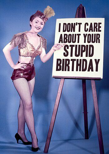 Dean Morris Rude Funny Rude Birthday Card Adult Theme Rude Crude