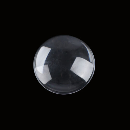 5//10//20Pcs transparent round clear glass cabochon dome glass cover 13mm-35mmPVCA