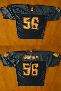 ba97f18f7 Men s San Diego Chargers Shawne Merriman L Jersey (Columbia) NFL ...