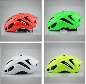 Solid-color-AERO-MTB-Road-Bike-bicycle-Cycling-Helmet-men-women-M-L-54-62cm