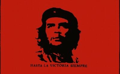 Ernesto Che Guevara 5 x 3 FT GREAT QUALITY FLAG Argentine Marxist revolutionary