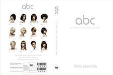 ABC CUTTING HAIR THE VIDAL SASSOON WAY EDUCATION 3 DVD SET Step by Step Training