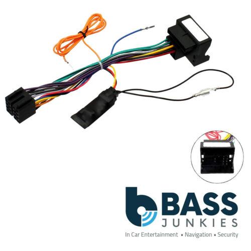 Citroen C5 2005 On Car Stereo Quadlock Wiring Harness Ignition Generator Adapter