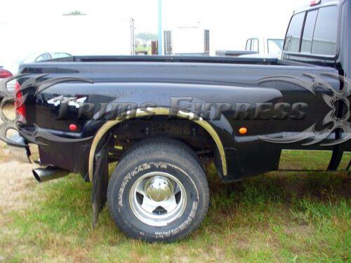 "1999-2010 Ford F-250//350 SuperDuty Crew Cab Dually 12pc 8 3//4/"" Rocker Panel Trim"