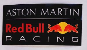 Details About Aston Martin Red Bull Racing Official F1 Souvenir Vinyl Sticker 2019