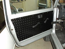 SUZUKI SAMURAI TIN TOP FRONT DOOR and REAR DOOR PANELS, SET OF 4 BLK