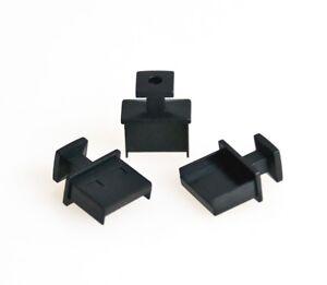 3x-Schutz-Abdeckung-Kappe-Deckel-Cap-fuer-USB-A-Buchse-schwarz-Cover-Staubschutz