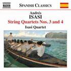 Andres Isasi - Andrés Isasi: String Quartets Nos. 3 & 4 (2013)