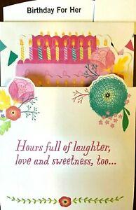 "FUN 3D POP OUT FRIEND BIRTHDAY Card /""HAPPY BIRTHDAY/"" Hallmark"